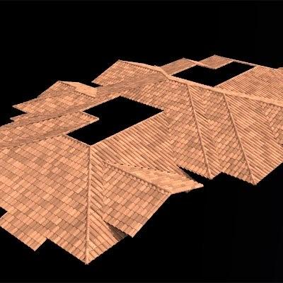 3d roof tiles