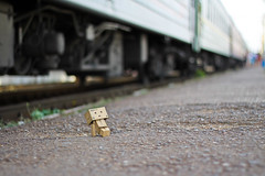 2st August (0905ru) Tags: sun station train way robot box rail railway journey cyborg ltd sevastopol vagon amazoncojp boxman revoltech danboard