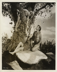 7000-3768 (AliceJapan ʕ •ᴥ•ʔ) Tags: johnny maureen mgm 1941 osullivan weissmuller johnnyweissmuller maureenosullivan tarzanssecrettreasure
