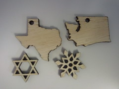 New laser cut items!