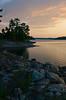 birch island (a small one) (punklefish) Tags: trees sunset lake ontario canon island rebel rocks sudbury birch xs rebelxs