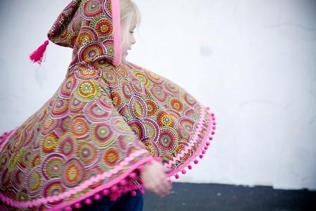 Moda infantil otoño-invierno 2010-2011, ponchos de la marca Periponchos