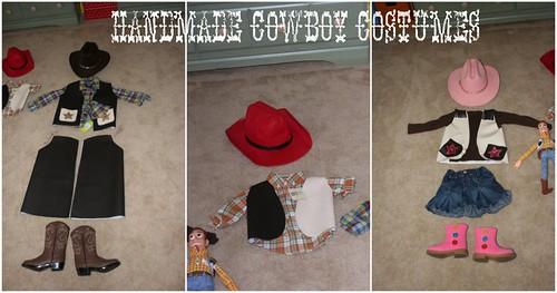 Handmade Costumes & Simple Cowboy u0026 Cowgirl Costumes -