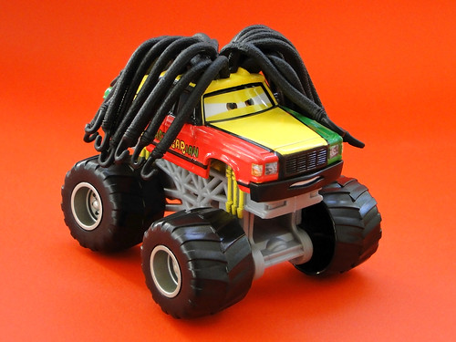 mattel cars toons monster truck mater diecast rastacarian 2010 - Monster Truck Mater Coloring Page