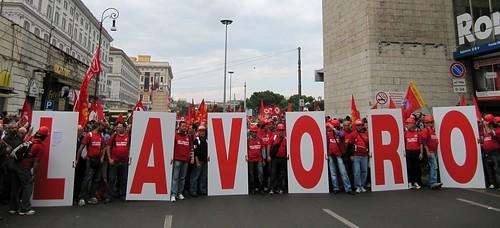 FIOM - CGIL  Manifestazione nazionale, Roma 16 ottobre 2010