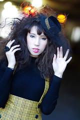 NYAF/NYCC (Anna Fischer) Tags: light newyork black fashion yellow back animefest bokeh alt lolita loli lit egl comiccon alternative nycc twinbee animefestival nyaf twinbeedesign