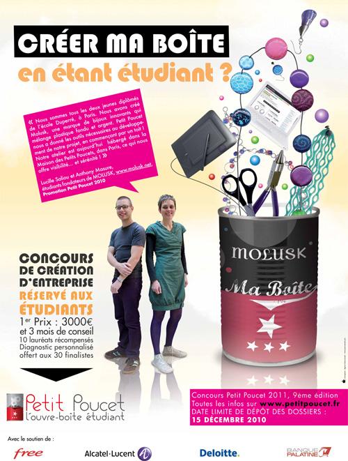 affiche concours Petit Poucet 2011