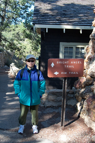 About to Tackle Bright Angel Trail