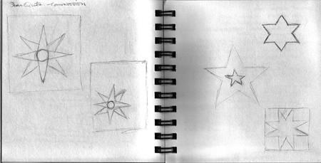 Sketchbook -- star designs