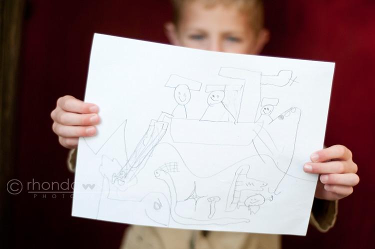 His Drawings