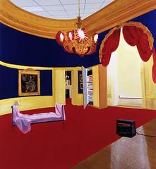 Dexter Dalwood - The Queens Bedroom