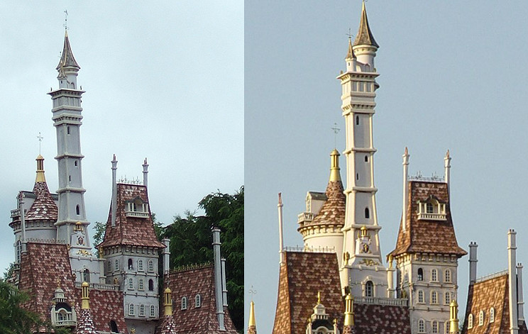 Pays Des Conte De Fee Spire Comparison