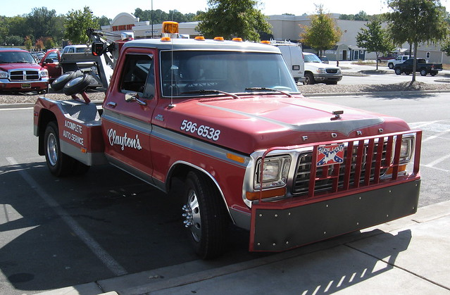 ford truck 1978 custom 1979 tow f350 wrecker