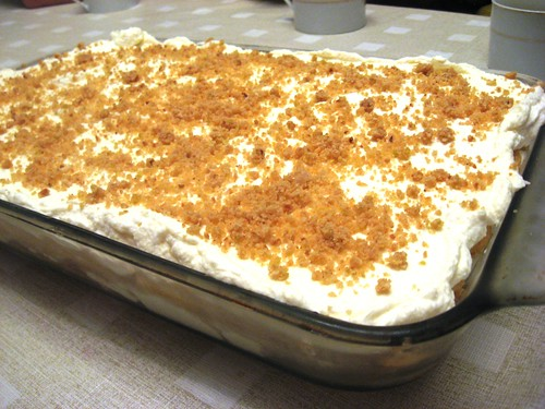 Lemon Hazelnut Tiramisu