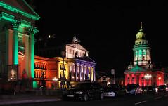 Gendarmenmarkt (Gertrud K.) Tags: berlin night nightshot illumination festivaloflights