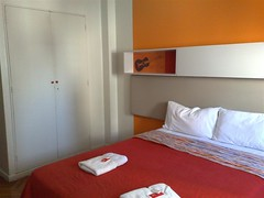 Quarto do Hostel Suites Florida