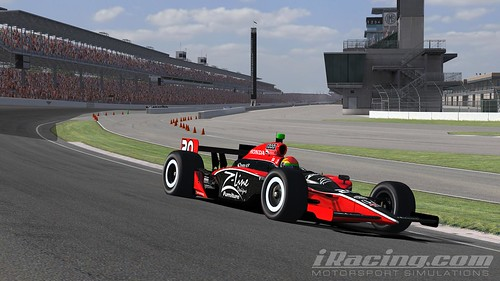 Justin Wilson at Indianapolis