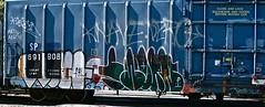 IMG_5216 (mightyquinninwky) Tags: railroad graffiti tag graf tracks railway tags tagged railcar rails boxcar graff graphiti freight trainart fr8 railart boxcarart freightart taggedboxcar paintedboxcar paintedrailcar taggedrailcar