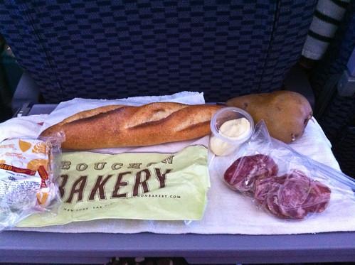 picnic at 30,000 feet