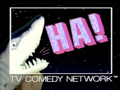 HA! TV Comedy Network [logo]
