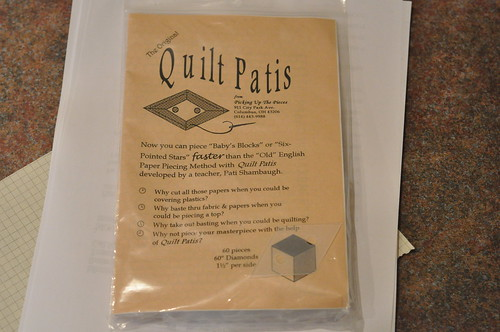 "Quilt Patis 1.5"" diamond templates"