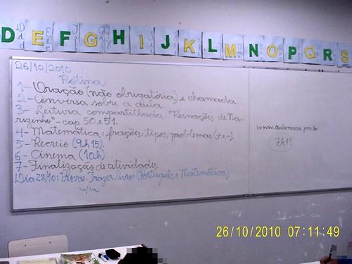 Rotina Prevista (26/10/2010)