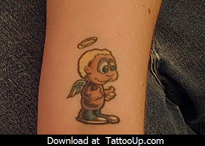free angel tattoo designs. free angel tattoo stencils