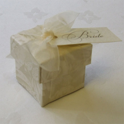 Alabama Wedding Favour Box