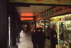 Chester (England), 1969 (borntobewild1946) Tags: england 1969 chester einkaufspassage berndloos borntobewild1946 copyrightbyberndloos