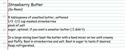 Strawberry Butter Recipe