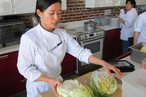 Making Kimchi: chef EJ Jeong opens a cabbage