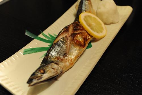 塩焼き秋刀魚