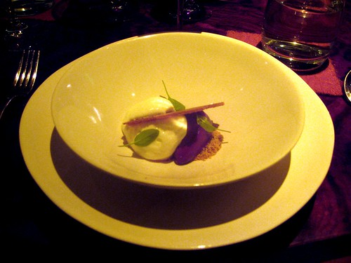 Coi, San Francisco - Cheesecake, Goat Cheese Ice Cream, Graham, Niabell Grape