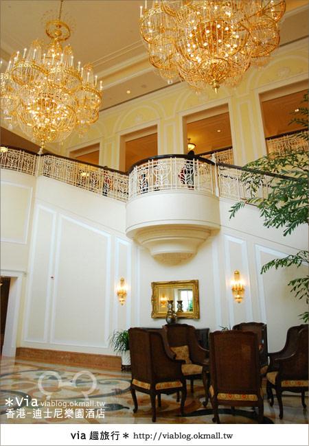 【香港住宿】跟著via玩香港(4)~迪士尼樂園酒店(外觀、房間篇)22
