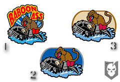 Baboon Ass Patch Choices
