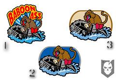 Baboon Ass Patch Choices