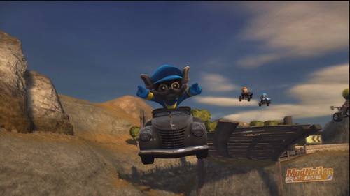 Sly Cooper: ModNation Racers