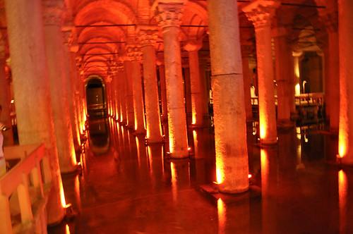 Cisterna de la Basilica - Estambul (Turquia)