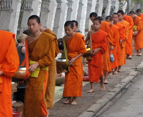 Alms For The Monks