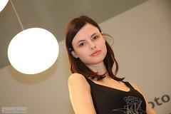 eicma_IMG_06_flickr (foxwolf70) Tags: portrait woman white black milan girl face look bike model grigio milano gray sguardo bianco ritratto nero viso mvagusta 2010 agusta sfera modella eicma fieradelmotociclo