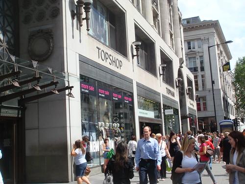 Topshop em Londres