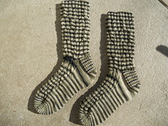 Rattlesnake Creek socks finished