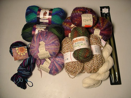 More new yarn...
