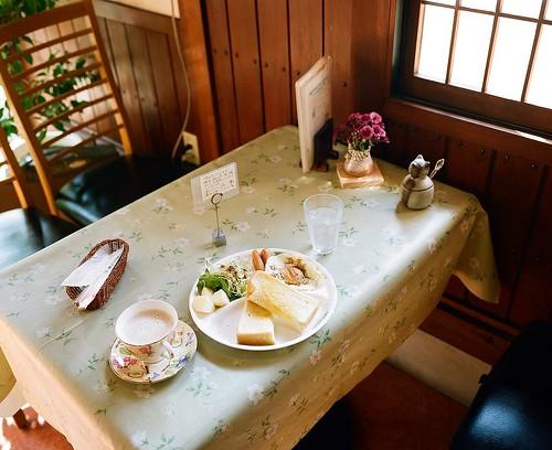 Breakfast in Tsuwano / 津和野町