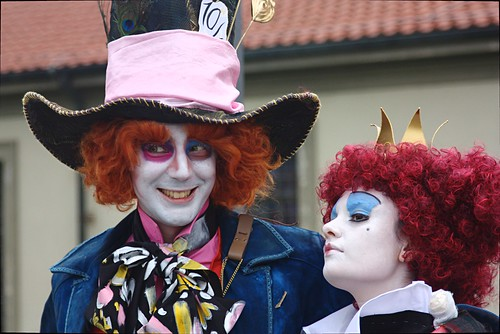 Mad Hatter and Red Queen by Caterina83