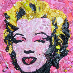 Warhol's Marilyn by Jane Perkins