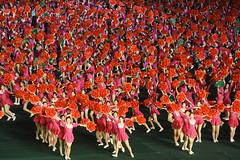 Mass games (Lachlan Towart) Tags: travel girls asia korea northkorea pyongyang dprk massgames daincing