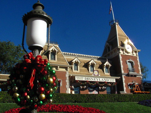 The Holidays Hit The Main Street Train Station