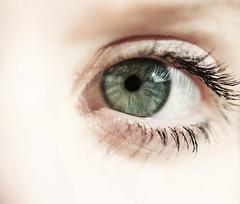 16/52 (Cecilia Adolfsson) Tags: iris shadow white reflection green eye me canon see eyelashes skin cecilia 60mm pupil myeye adolfsson