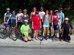 Our Sunday Miami group (randeclip) Tags: light beach day shot miami path south skating group skate k2 inline 2010 sundau